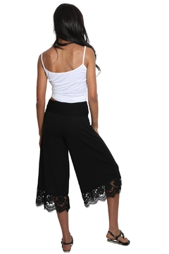 Chatoyant  Laced Gaucho Pants - Alternate List Image