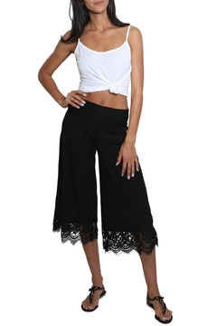 Chatoyant  Laced Gaucho Pants - Product List Image