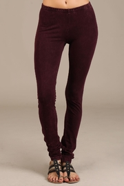 Chatoyant  Mineral Wash Leggings - Front cropped