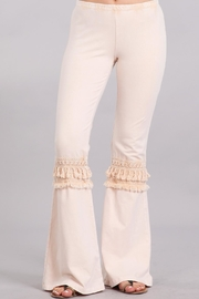 Chatoyant  Nude Bell Bottoms - Product Mini Image