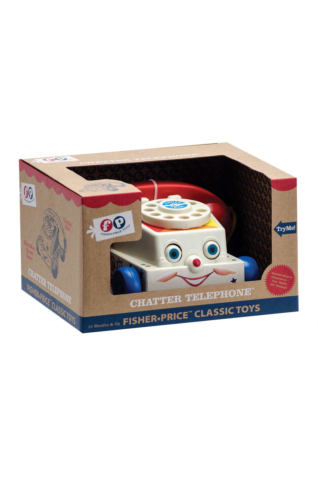 Fisher Price Chatter Telephone - Front Full Image