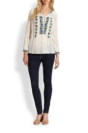 Joie Chava Embroidered Blouse - Product Mini Image