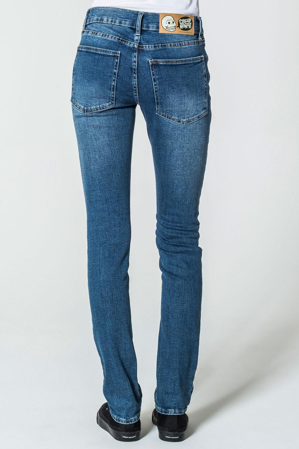 Cheap Monday Base Dark Blue Jeans - Front Full Image