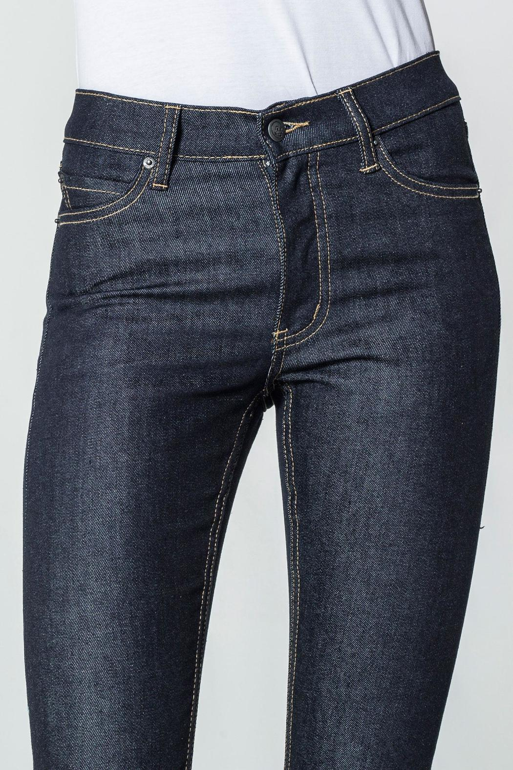 Cheap Monday Blue Dry Jeans - Back Cropped Image