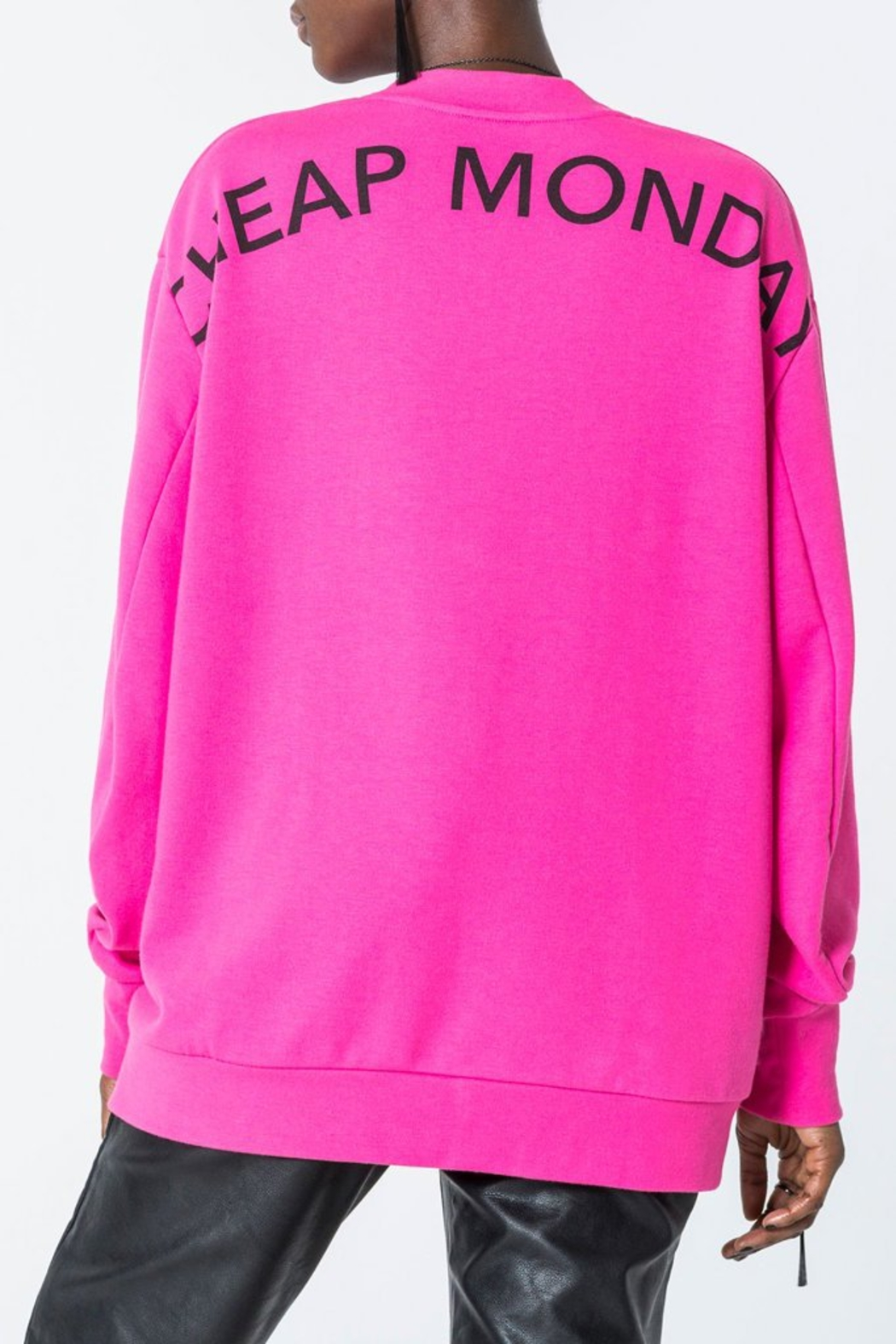 Cheap Monday Con Arched Logo Sweat - Side Cropped Image