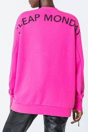 Cheap Monday Con Arched Logo Sweat - Side cropped