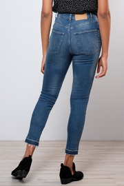 Cheap Monday Drop Hem Skinny Jeans - Side cropped