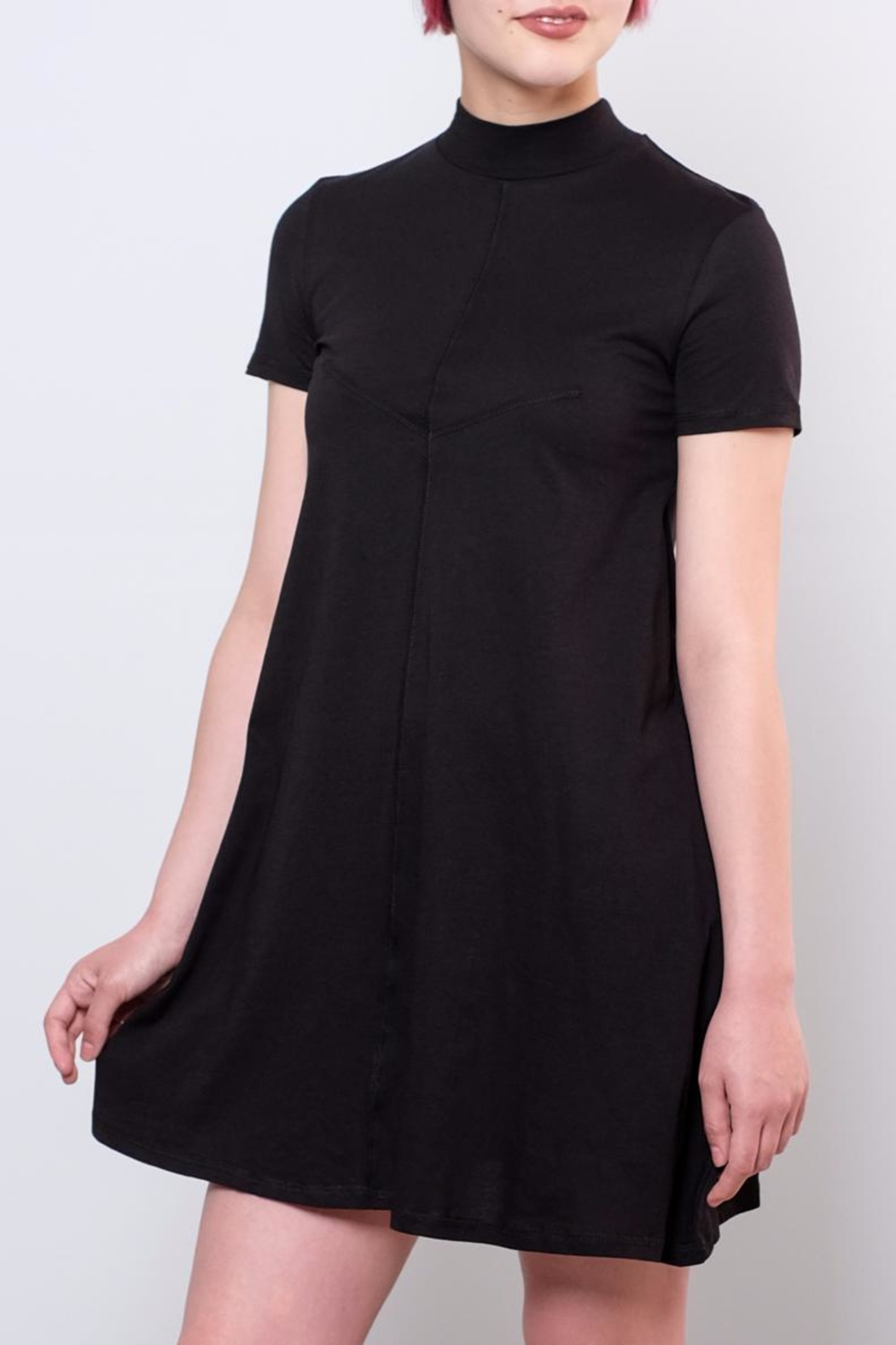 Cheap Monday Mock Neck Dress - Front Cropped Image