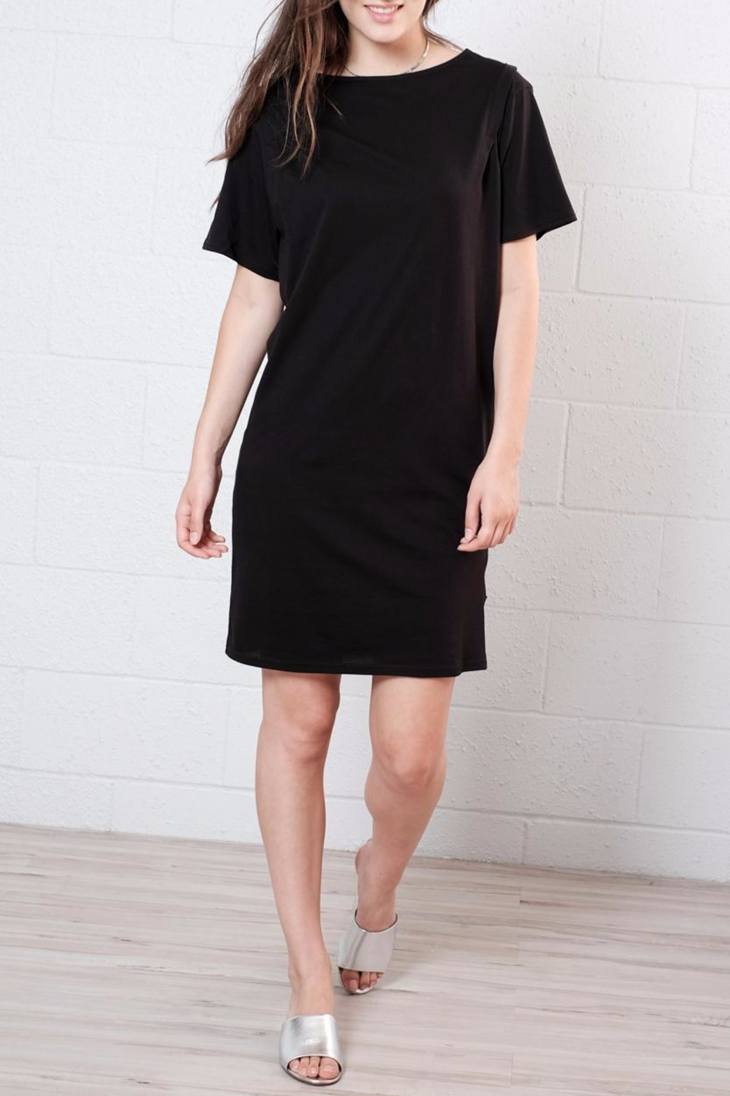 Cheap Monday Pleated Shirt Dress - Front Cropped Image