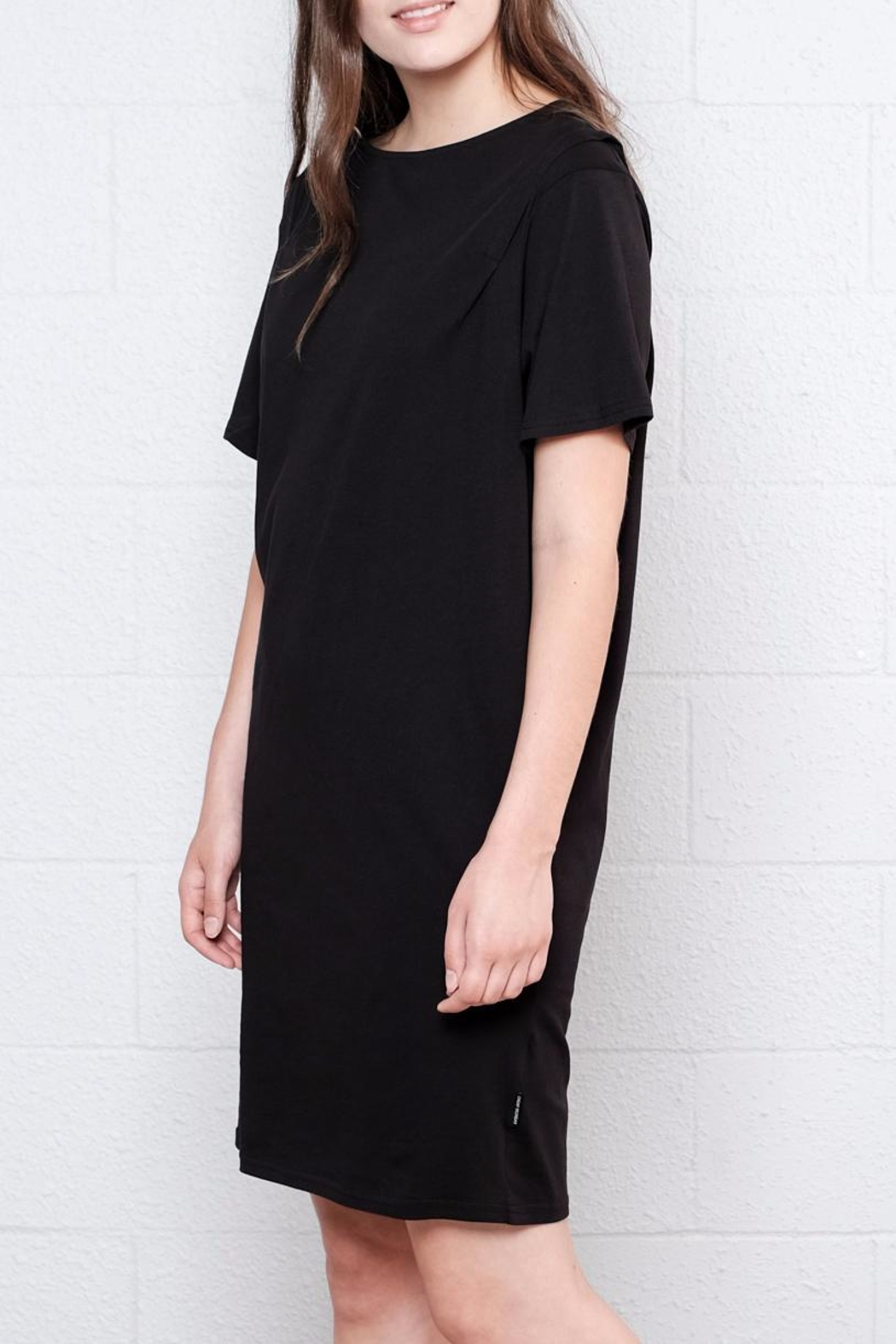 Cheap Monday Pleated Shirt Dress - Side Cropped Image