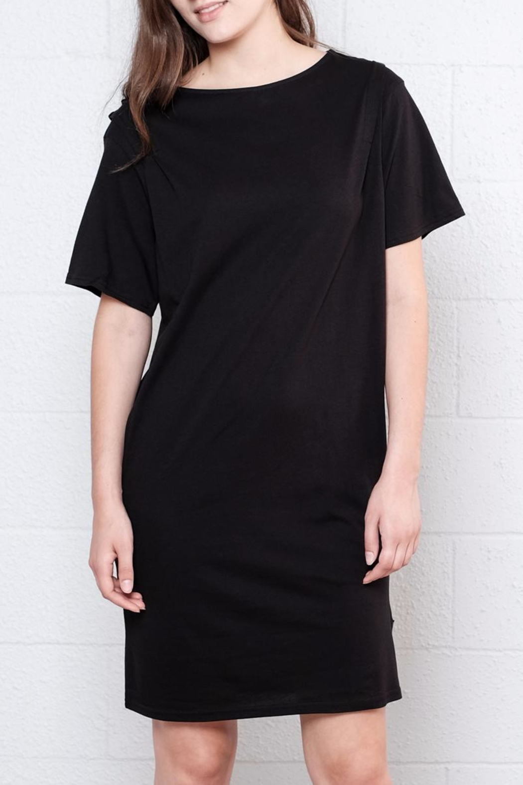 Cheap Monday Pleated Shirt Dress - Main Image