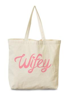Shoptiques Product: Pink Wifey Tote
