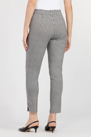 Tribal Check Ankle Pant - Front full body