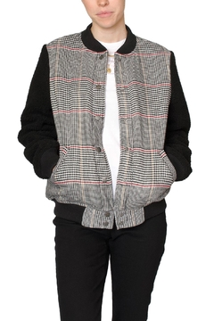 Fifth Label Check Bomber Jacket - Product List Image