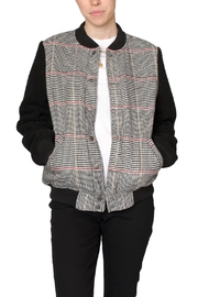 Fifth Label Check Bomber Jacket - Product Mini Image