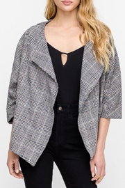 Lush Check Crop Jacket - Product Mini Image