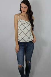 Gilli Check Mate Camisole - Product Mini Image