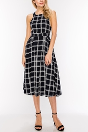 HYFVE Check Midi Dress - Product Mini Image