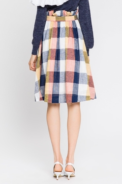 English Factory Check Skirt - Alternate List Image