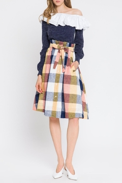 English Factory Check Skirt - Product List Image