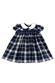 Malvi & Co. Check Smocked Dress. - Front cropped
