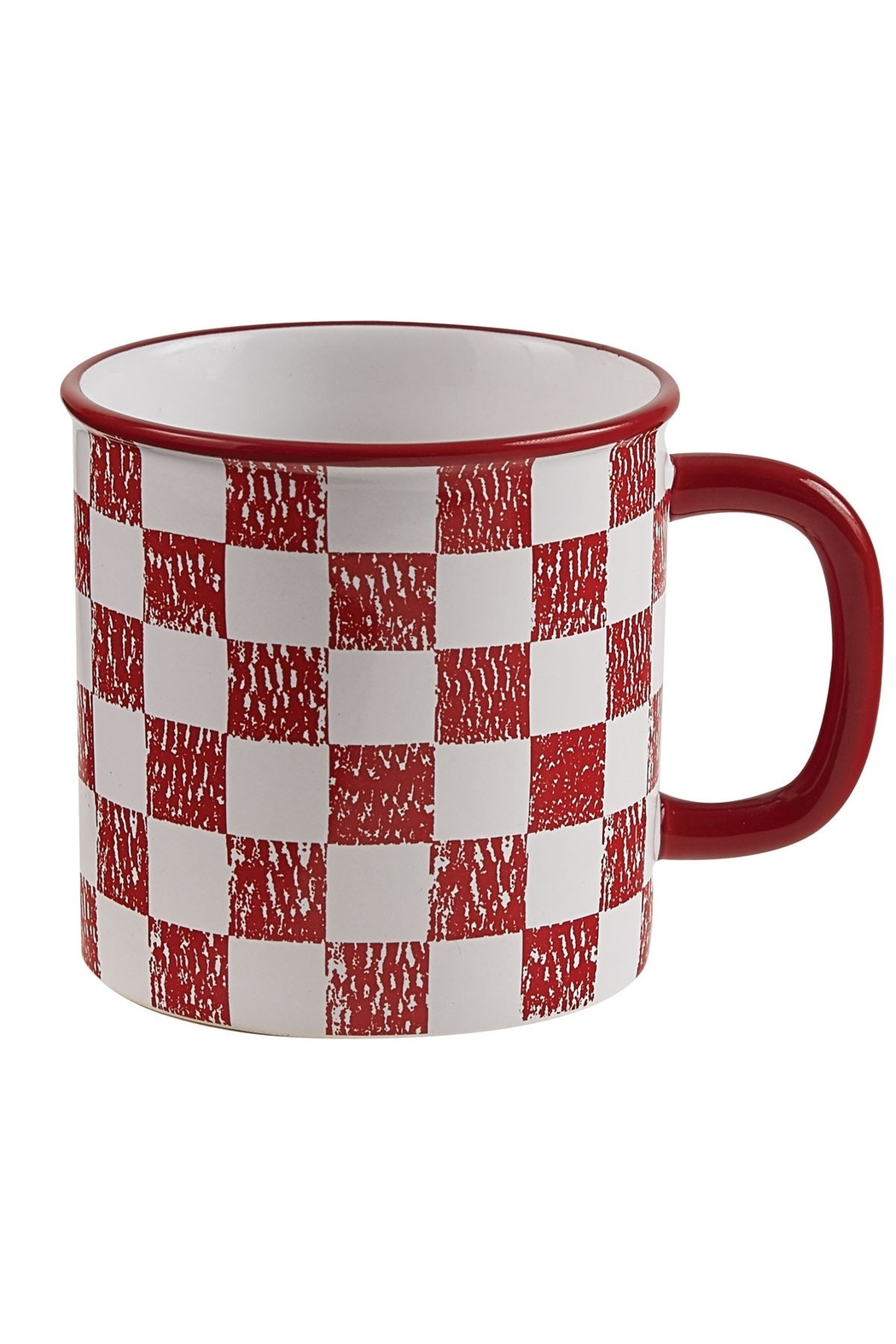 Park Designs Checked Coop Mug - Main Image