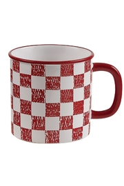 Park Designs Checked Coop Mug - Product Mini Image