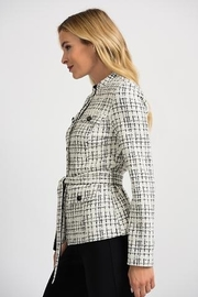 Joseph Ribkoff CHECKED JACKET - Side cropped