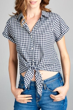 Shoptiques Product: Checked Out Top