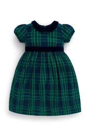 JoJo Maman Bebe Checked Party Dress - Front cropped