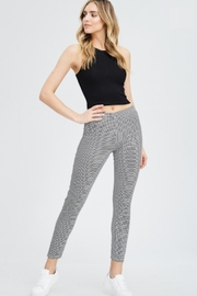 TIMELESS Checker Pants - Front cropped