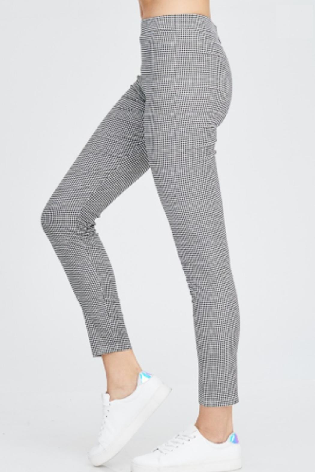 TIMELESS Checker Pants - Side Cropped Image
