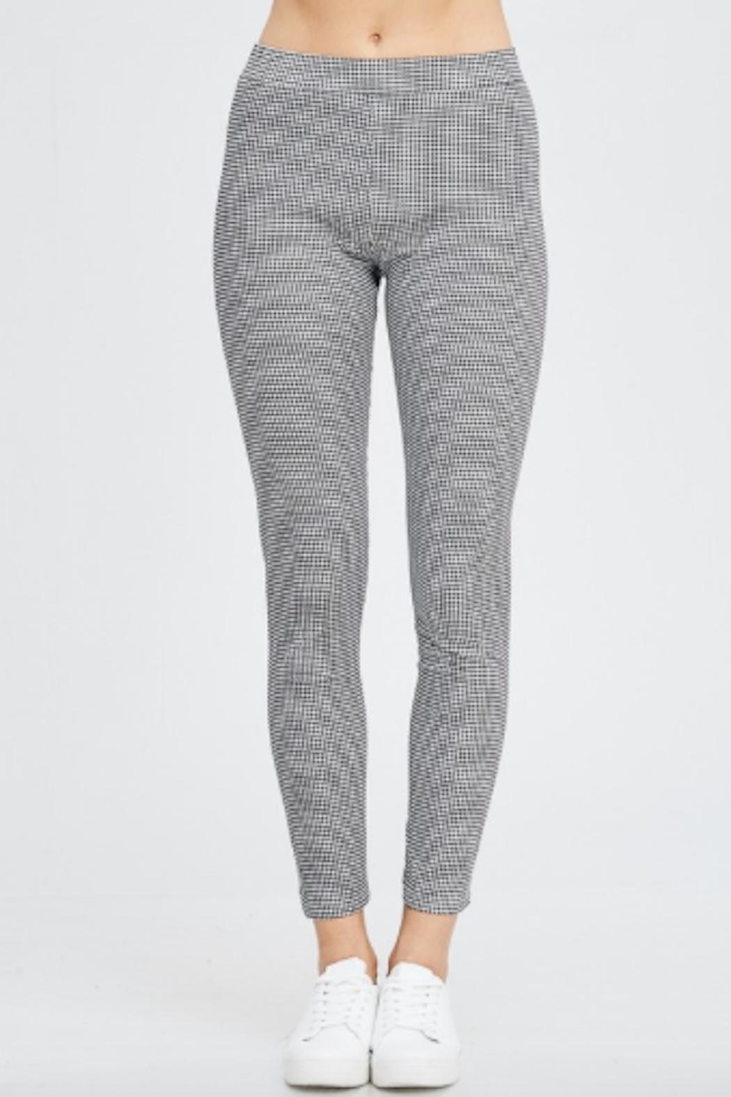 TIMELESS Checker Pants - Front Full Image