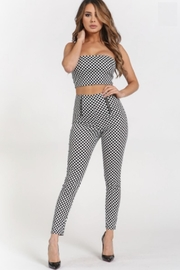 TIMELESS Checker Pants - Product Mini Image