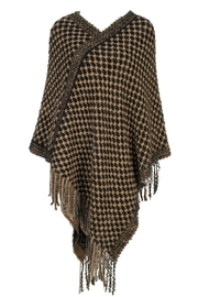 Howard's Checker Weave Poncho - Product Mini Image