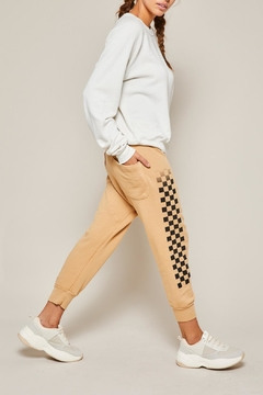 All Things Fabulous Checkerboard Lowrider Sweats - Product List Image