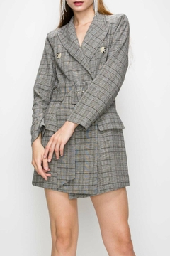 Shoptiques Product: Checkered Blazer