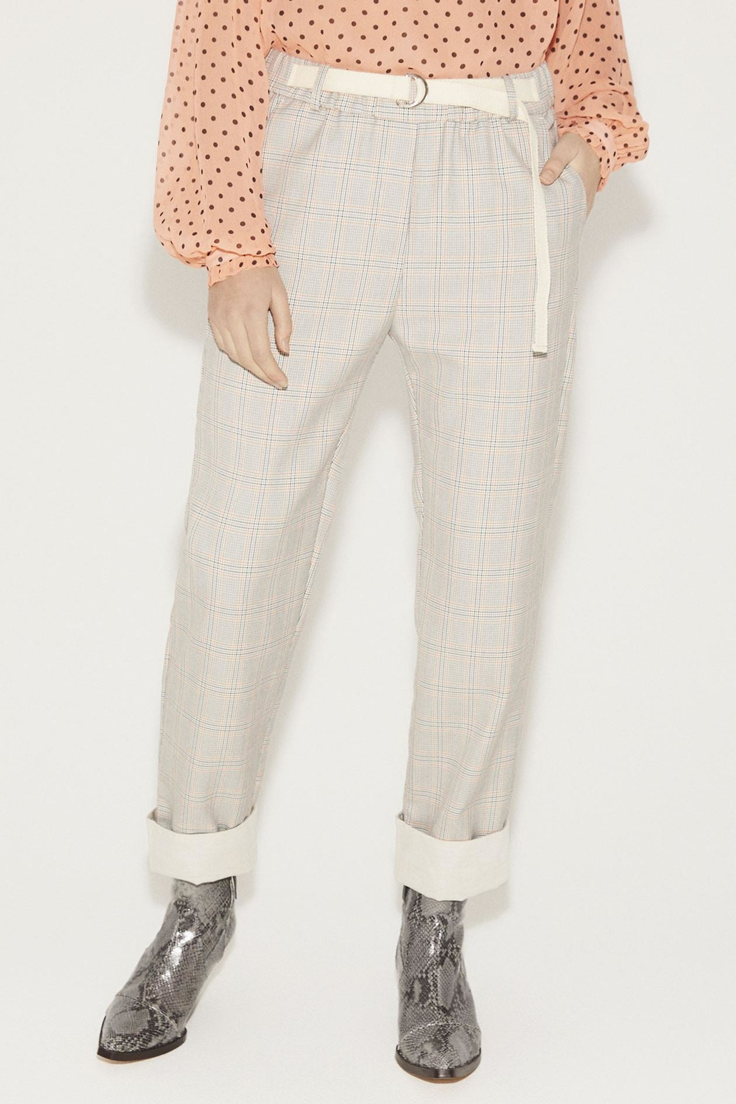 Munthe Checkered Pants - Main Image