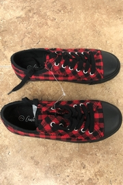 Giftcraft Inc.  Checkered Printed Sneakers - Side cropped