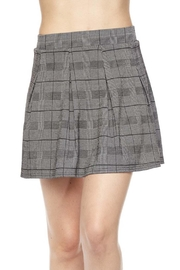 New Mix Checkered Skater Skirt - Product Mini Image