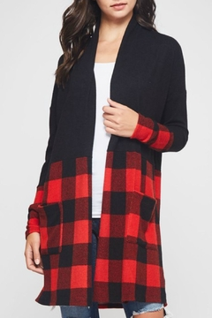 Bellamie Checkers Cardigan - Alternate List Image