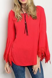 Cheeky Bell Sleeve Top - Product Mini Image
