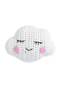 Cheengoo Hand Crocheted Cloud Rattle - Alternate List Image