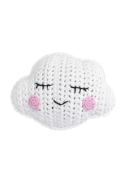 Cheengoo Hand Crocheted Cloud Rattle - Product Mini Image