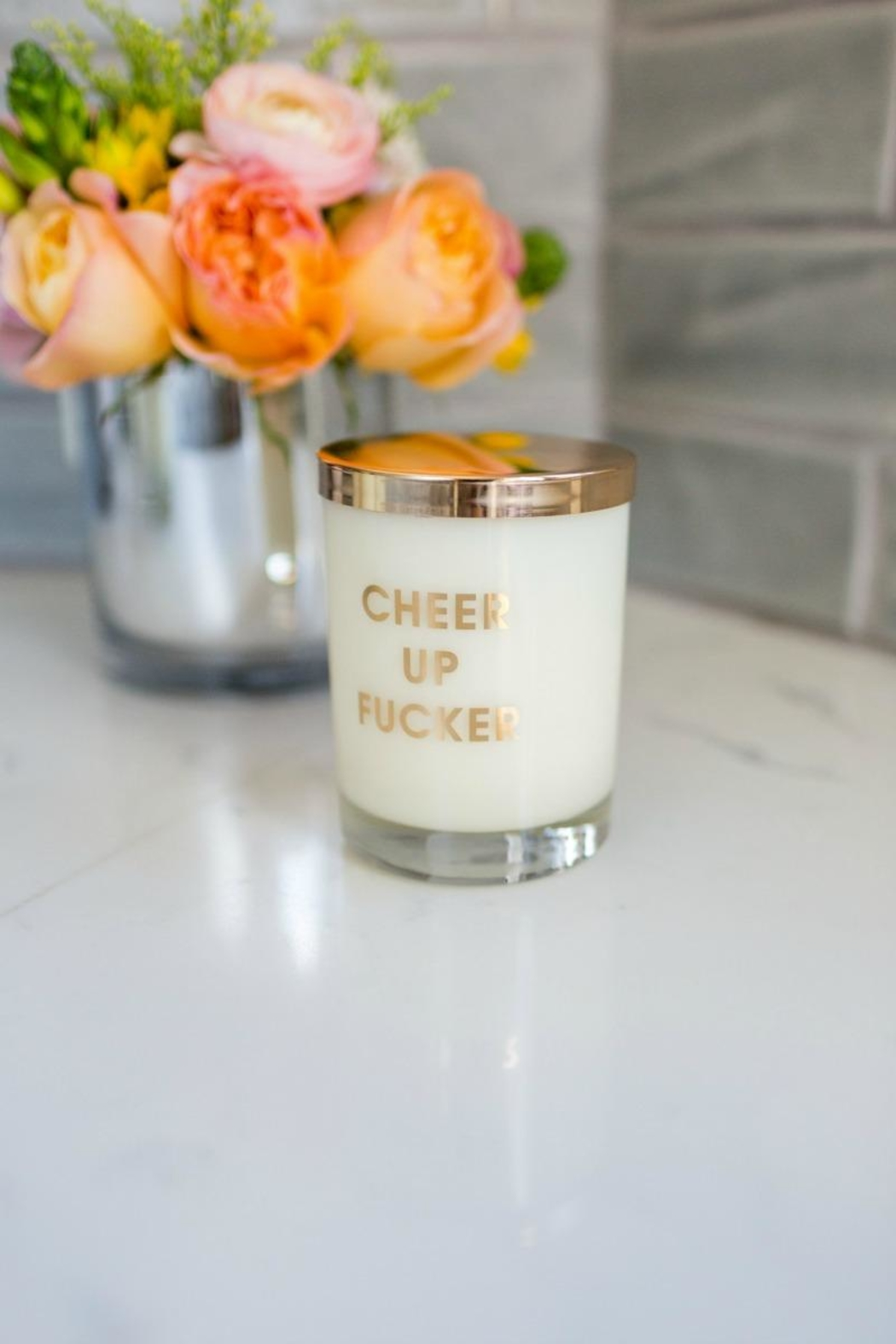 Chez Gagne Cheer Up Candle - Main Image