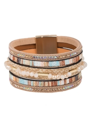 Saachi Cheerful Beaded Bracelet - Side cropped