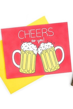 Shoptiques Product: Cheers Card