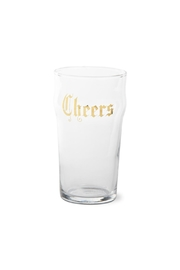 Tag Ltd. Cheers Pint Glass - Front cropped
