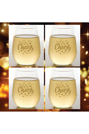 The Birds Nest CHEERS SHATTERPROOF WINE GLASSES - Front cropped