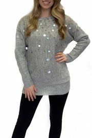 Kayla's Armoire Cheers to Fun sweater - Front cropped